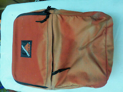 894908e6d Vintage 80s Cannondale Cycling Bicycle Saddle Bag Pannier Red Nylon Side