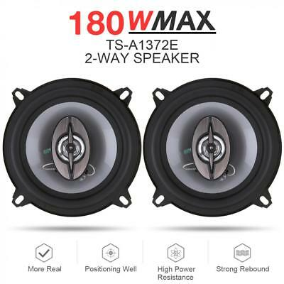 13cm 180W 2 Way Car Coaxial Auto Music Stereo Full Range Frequency Hifi Speakers