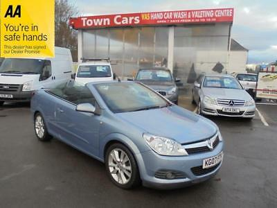 Vauxhall Astra TWIN TOP DESIGN - FULL LEATHER TRIM, ALLOYS, SERVICE HISTORY