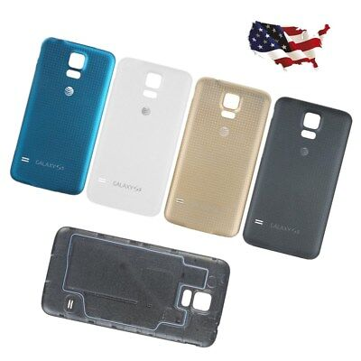 Housing Rear Back Door Battery Cover Glass Case For Samsung Galaxy S5 G900 USA