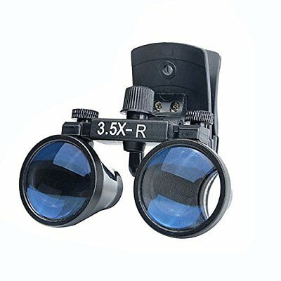 Dental Medical Binocular Clip-on Loupes 3.5X-R Head Magnifier