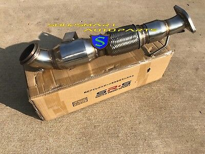 """FIT 3/"""" OR 2.5/"""" CATBACK SRS DOWN PIPE FOR 13 FORD FOCUS ST 2.0L 3/""""// 2.5/"""" TURBO"""
