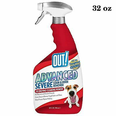 Pet Stain Odor Remover Eliminator Dog Cat Urine Effective Carpet Cleaner Spray
