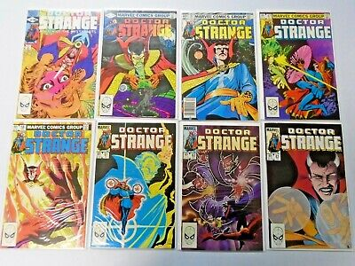 Doctor Strange (2nd Series), From:#50-80, 24 Different 8.0/VF (1982-1986)