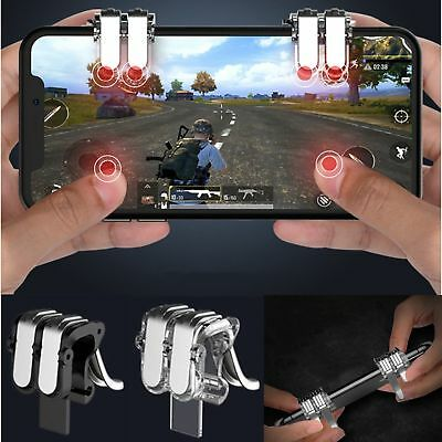Shooter Controller Game Trigger Fire Button Handle L1R1 For Samsung iphone PUBG