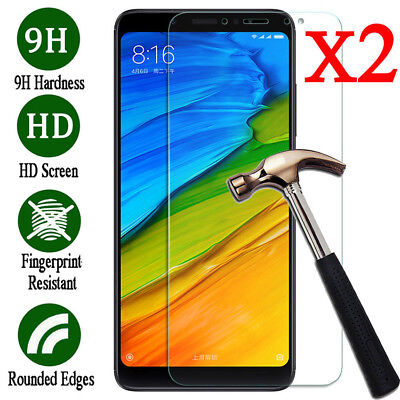 2x For XiaoMi Redmi 6 5 4 3 S2 Tempered Glass Screen Protector Protective Film