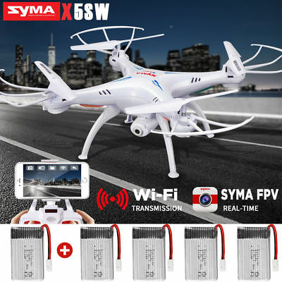 SYMA X5SW 6-Axis Gyro Headless FPV RC Quadcopter Drone Wifi with HD Camera