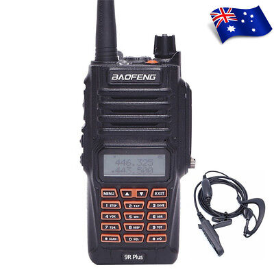 Baofeng UV-9R Plus Walkie Talkie High Power 10km Long Range 2 Way Radio UHF/VHF