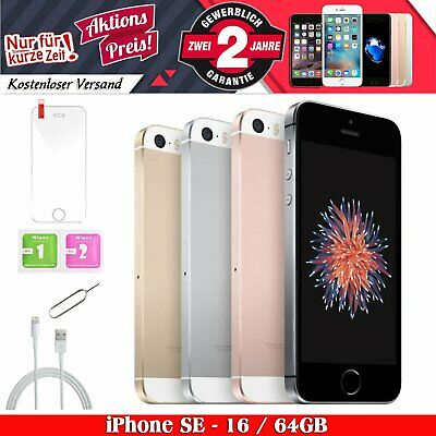 NEU Apple iPhone SE 16GB 32GB 64GB Spacegrau Gold Rosegold Silber Smartphone