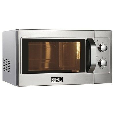 Buffalo Manual Commercial Microwave Oven 1100W EBGK643-A