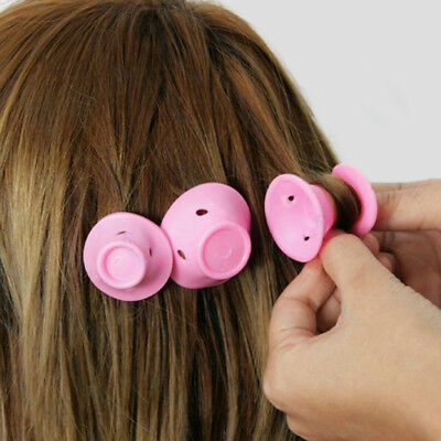 Silicone Hair Curler Magic Hair Care Rollers No Heat Hair Styling Tool 30pc