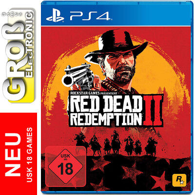 Red Dead Redemption 2 DayOne Edition UNCUT PS4 Playstation 4 DE 18 Deutsch NEU