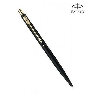 Parker Classic Slimline Matte Black Ballpoint With Gold Trim