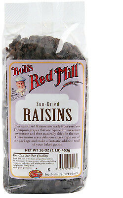 Bob's Red Mill, Sun Dried Raisins, 16 Oz (453 G)