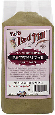 Bob's Red Mill, Old Fashioned Dark Brown Sugar, 28 Oz (793 G)