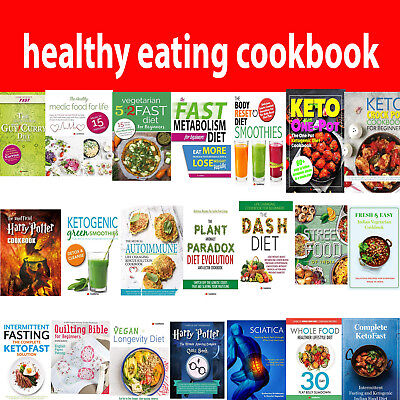 Healthy eating books Vegetarian cookbook Fast Diet, Slow Cooker, Dash Diet, Keto