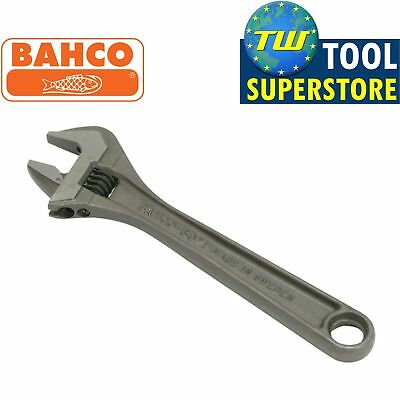 """Bahco 10"""" Black Adjustable Spanner 250mm Wrench - 30mm Wide Jaw Capacity 8072"""
