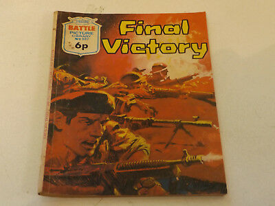 BATTLE PICTURE LIBRARY NO 687,dated 1972 !,GOOD FOR AGE,VERY RARE,46 yrs old.