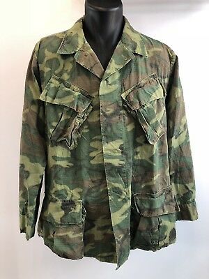 Champ Vietnam Veste Army M64 Field Cavalry Jungle Jacket 1st Us De Cwqgxat