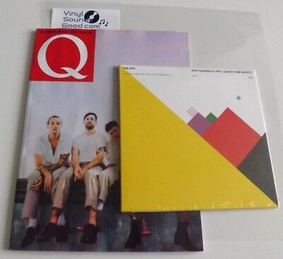 """The 1975 Give Yourself A Try / Love It  7"""" Vinyl + Q Magazine Brief Inquiry"""
