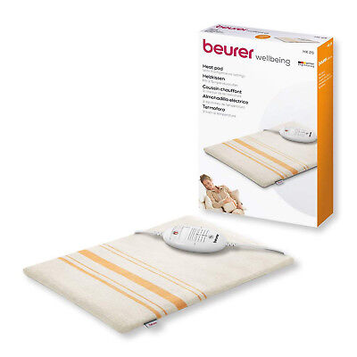 Beurer Entry Level Electric Heating Pad 3 Adjustable Heat Setting Washable -HK25