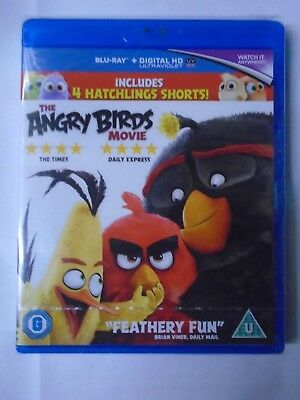 The Angry Birds Movie [Blu-Ray 2016], New & Sealed BW8