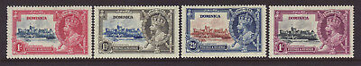 DOMINICA 1935 Silver Jubilee set MLH.