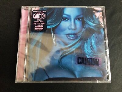 Mariah Carey **Caution 2018 [Explicit Content] **BRAND NEW CD Free Shipping