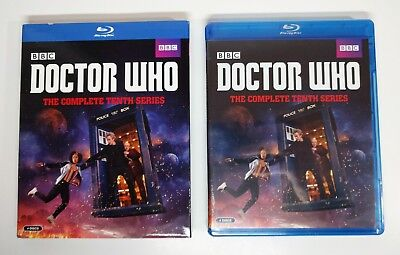 Doctor Who: Complete Tenth Series 10 Blu-ray w/ Slipcover *BRAND NEW* BBC Season