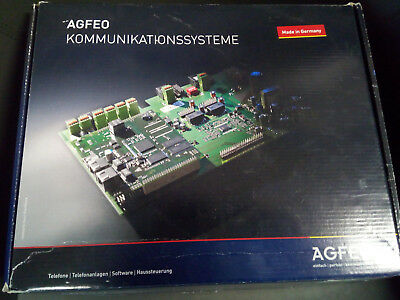 AGFEO Kommunikationssysteme AS151 plus ISDN / Analog /Telefonanlagen / Software