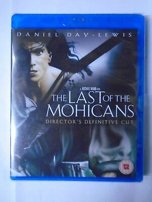 The Last Of The Mohicans (Blu-ray, 2012), New & Sealed N8