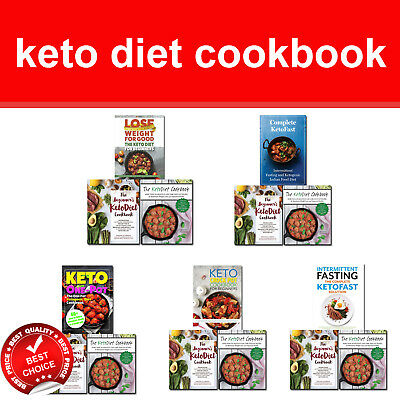 Keto Diet for beginners recipe books set Ketogenic cookbook, KetoFast, Crock Pot
