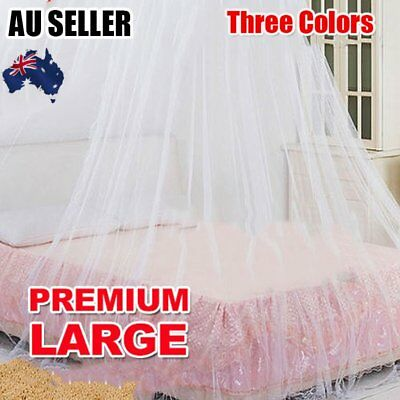 Net Canopy Bed Curtain Dome Mosquito Insect Stopping Double Single Queen BS
