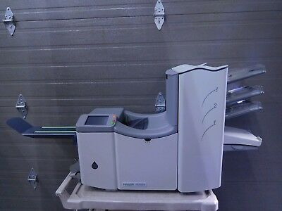 Hasler M5000 Neopost DS-70 Desktop 3-Station Folding Envelope Inserting Machine