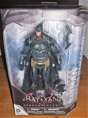 Batman Arkham Knight Battle Damaged GameStop Exclusive Action Figure DC Comics