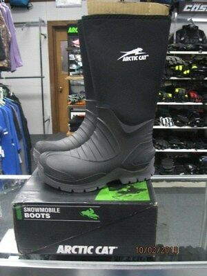 Arctic Cat Neoprene Explore Snowmobile boots mens size 9