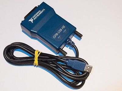 ... National Instruments NI-USB-HS GPIB USB Adapter