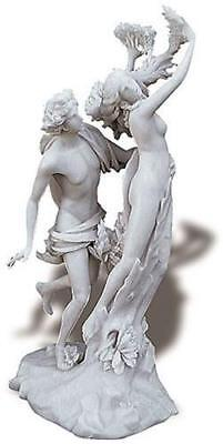 Apollo and Daphne Sculpture by Bernini 14H Woman Turning Into Tree Myth