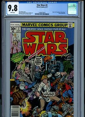 Star Wars #2 (Marvel, August 1977) CGC 9.8 1st HAN SOLO and CHEWBACCA