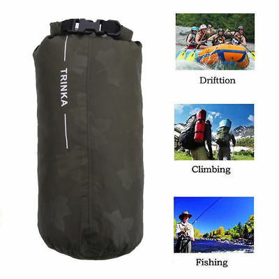 Portable 8//40//70L Waterproof Storage Bag Pouch Camping Hiking Trekking Boating O