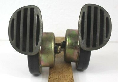 2 Vintage Car or Motorcycle Horns (Untested) Made in Italy