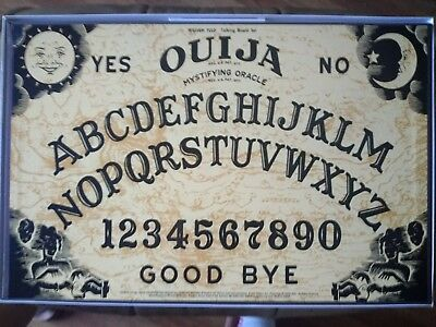 Early WILLIAM FULD Ouija Board GREAT GRAPHICS Pre Parker Brothers