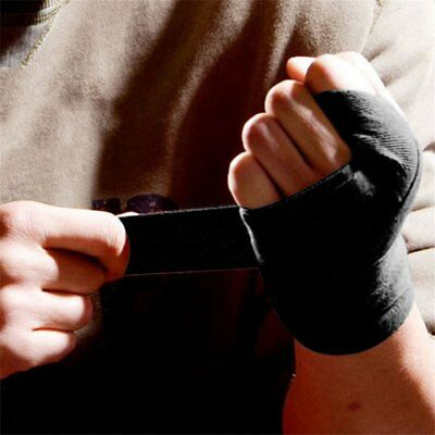 2.4M Full Cotton Men Women Sports Strap Boxing Bandage Thai Hand Gloves Wraps TS