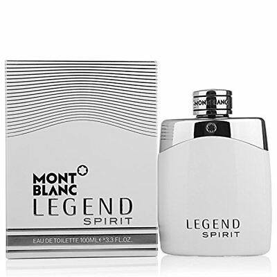 Mont Blanc Legend Spirit Cologne for Men 3.4 oz Eau de Toilette Spray New in Box