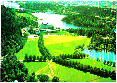 Used Postcard, Finland, Hotel Aulanko, Stamped 1985
