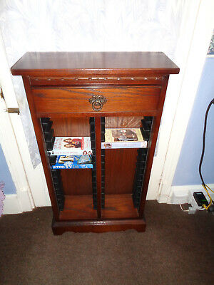 Old Charm Tudor Brown  Dvd  Cabinet With Drawer