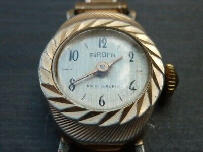 Ancienne Watch Pirofa Montre Mecanique Winding Herrenuhr Vintage 8n0mNvw