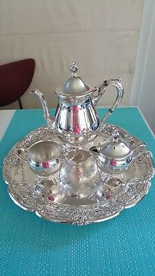 Viners   Tea Set   Silver Plated.