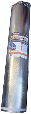 Underlayment 500 sq. ft. Radiant Barrier Thermal Acoustic Insulation Grey Blue