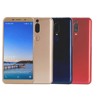 """5.99"""" 18:9  portable Telephone  Smartphone débloqué 3G Android 8.0  8Go ROM or"""